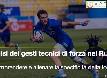 Video Web in Air A.P.F. – La azioni tecniche del Rugby – Comprenderle ed allenarle